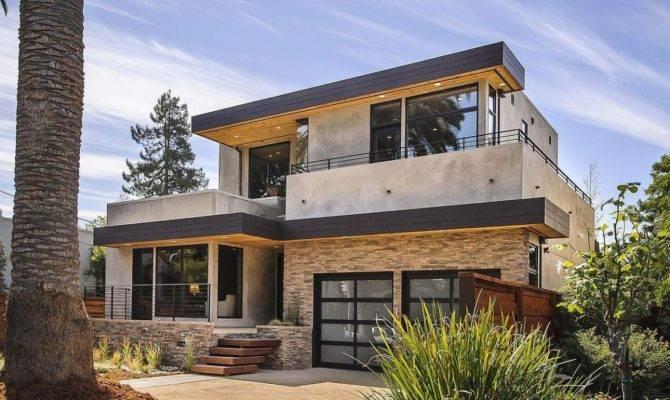 House Flora Contemporary Style Home Burlingame California