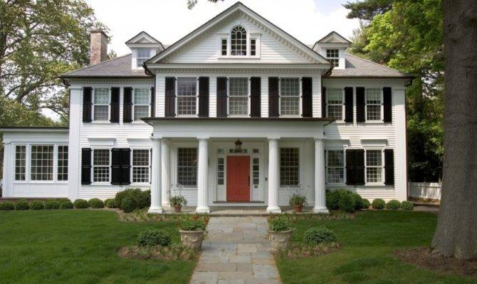 House Guide Federal Style Homes Porch