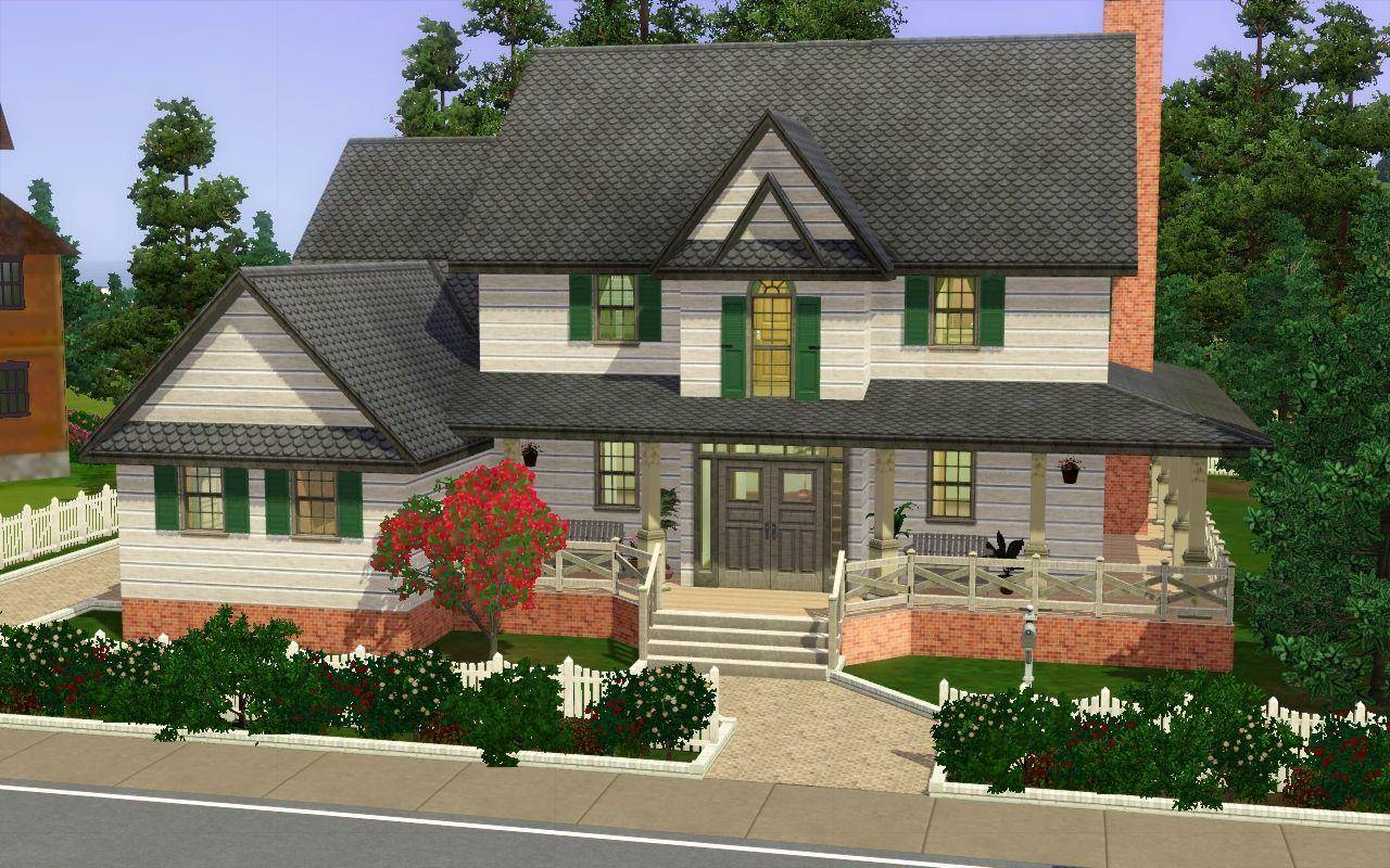 25 Spectacular Sims 25 Houses Ideas - House Plans