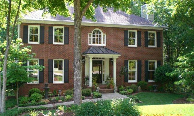 House Ideas Porches Hip Roof Porticos Covers Front Georgia