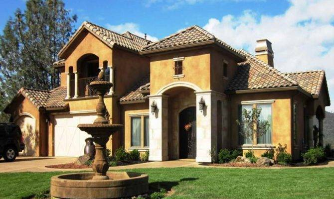 House Interior Designs Tuscan Style Home