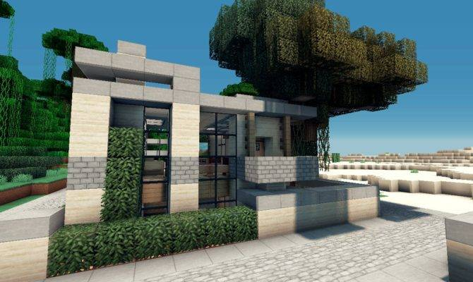 House Lets Build Lot Beach Town Project Minecraft