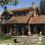 House Log Floor Plan Rustic American Design