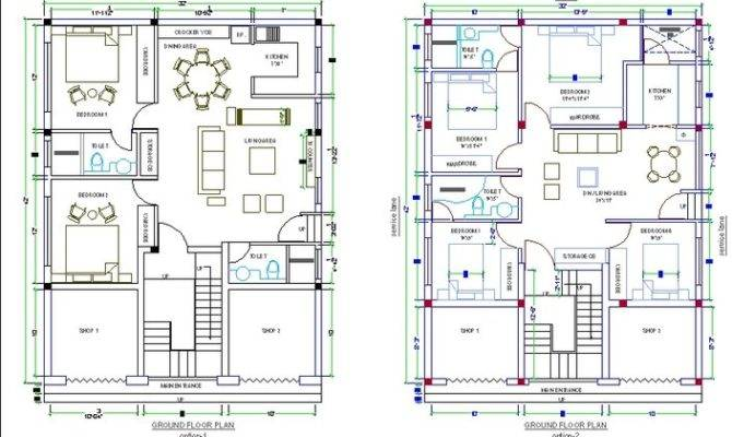 House Map Mohammad Asim Cad Crowd