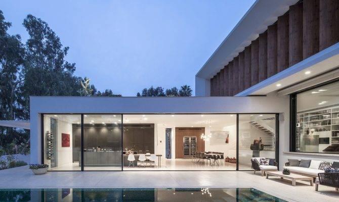 House Mediterranean Villa Paz Gersh Architects