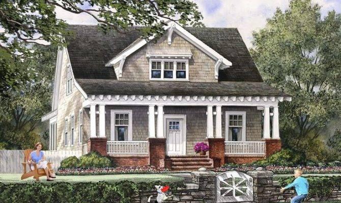 House Mountains Bungalow Cottage Craftsman Farmhouse Plan