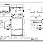 House Plan Autocad Architectural Design