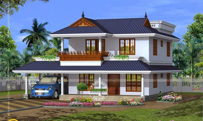 House Plan Beautiful Contemporary Home Kerala