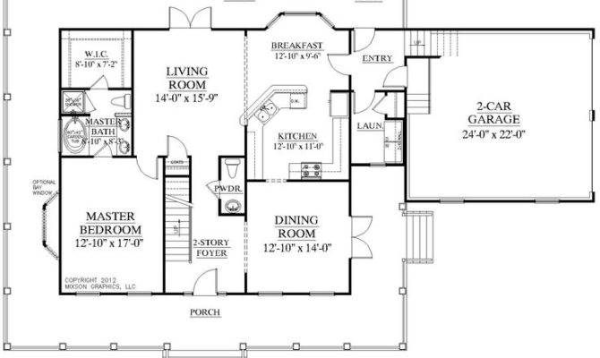 House Plan Bedroom Floor Master Plans