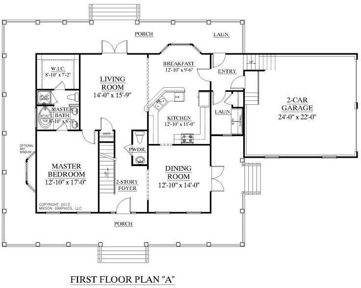 House Plan Bedroom Floor Master Plans House Plans 28155