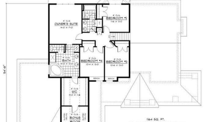House Plan Beds Baths Upper Floor