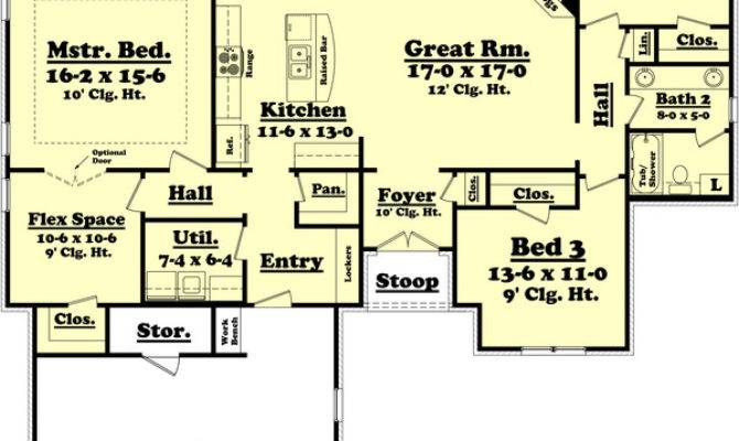 House Plan Beds Baths