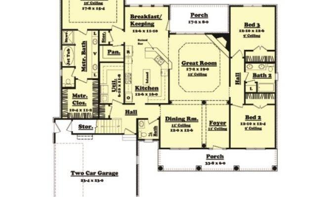 House Plan Bellmont Planhouse Home