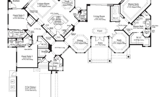 House Plan Cardiff Sater Design Collection Luxury