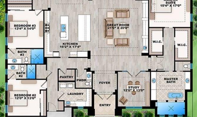 House Plan Contemporary Square