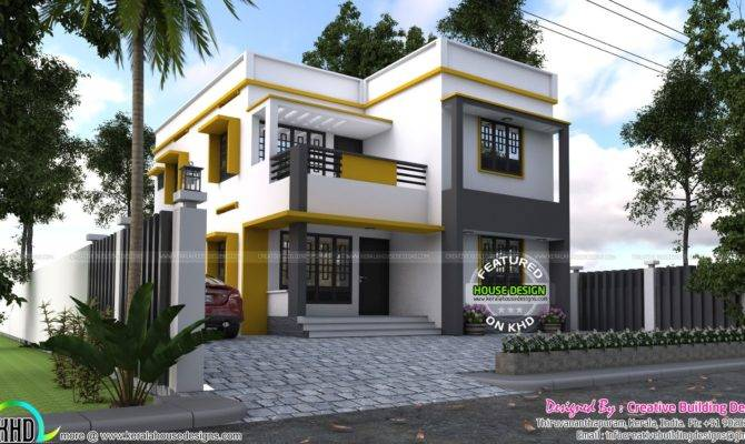 House Plan Creative Building Designs Kerala Home