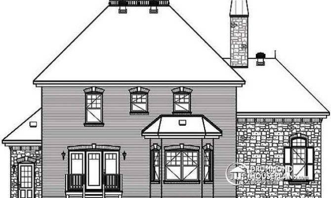 House Plan Detail Drummondhouseplans Reverse