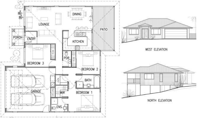 House Plan Elevation Architecture Plans