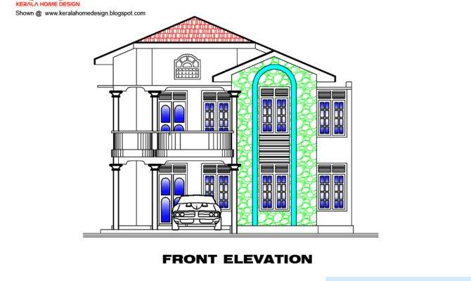 House Plan Elevation Kerala Home Design Floor Plans