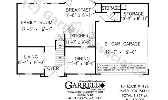 House Plan Floor Two Story Plans Master
