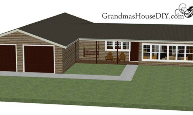 House Plan Great Back Deck Deluxe Master
