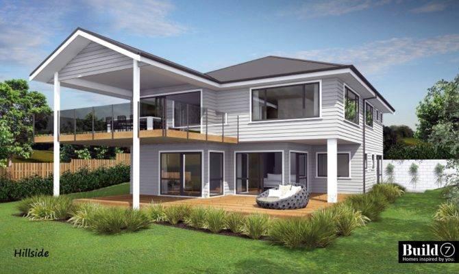 House Plan Hillside Build New Zealand