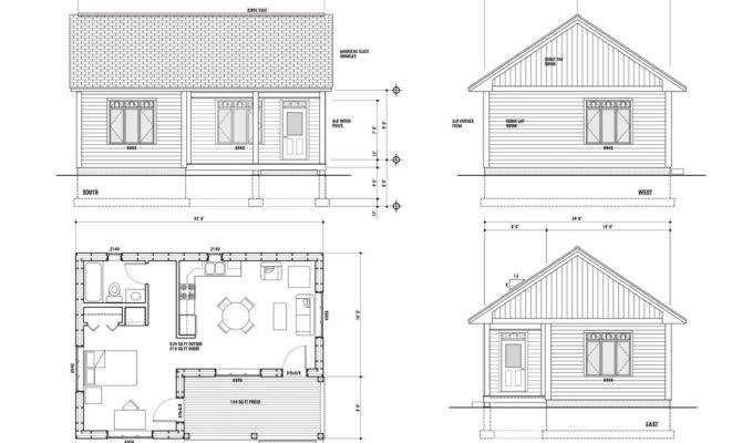 House Plan Maison Scoudouc Designed Small