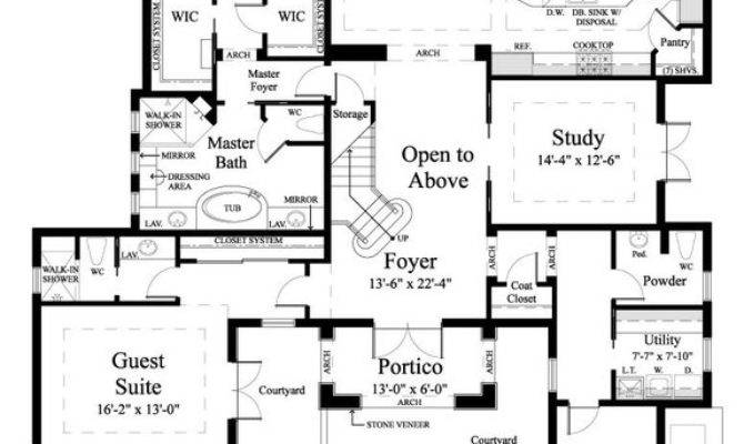 House Plan Monterchi Sater Design Collection