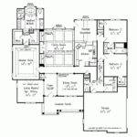 House Plan One Story All Need Square Feet
