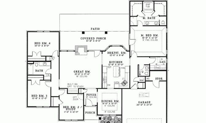 House Plan Perfect Modern Square Feet