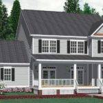 House Plan Rear Garage Plans Home Designs