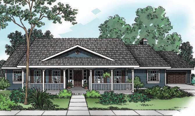 House Plan Redmond Country Plans Associated Designs