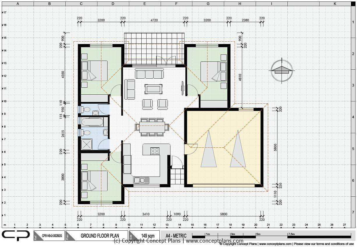 House Plan Samples Examples Our Pdf Cad Floor Plans House Plans 32587