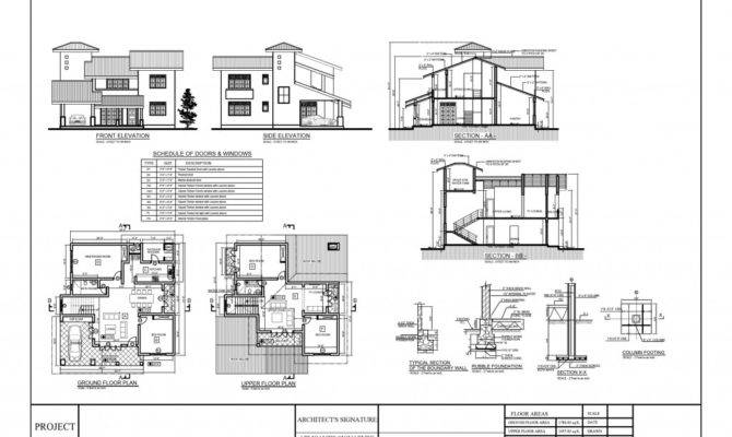 House Plan Small Plans Cad Drawings Autocad