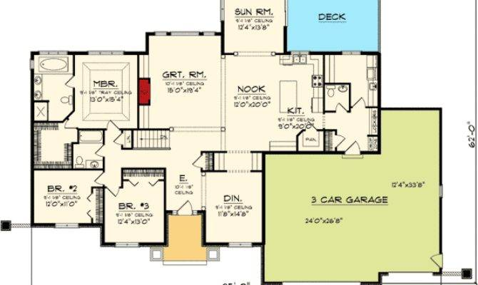 House Plan Sunroom Home Design Style