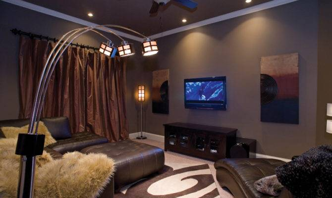 House Plan Theater Room Plans More