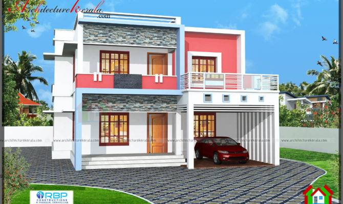 House Plan Three Different Elevations