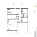 House Plan Vector Illustration Houseplan