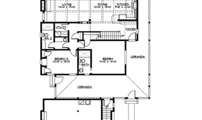 House Plan Week Narrow Lot Beach Home