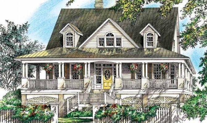 House Plan Wrap Around Porch Captures Every Breeze Square