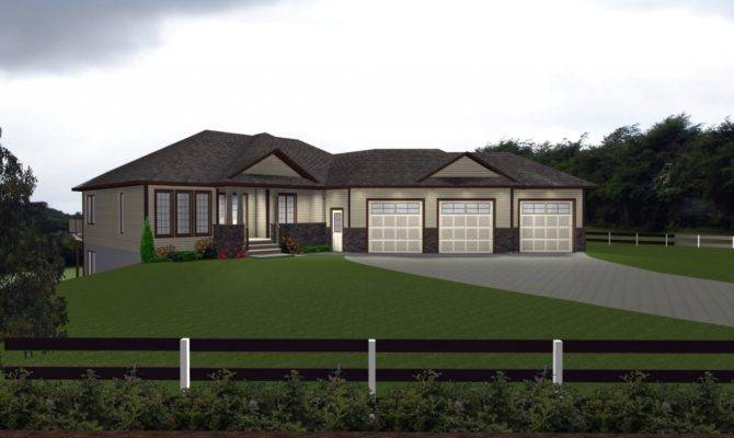House Plans Attached Car Garage Italian Villa