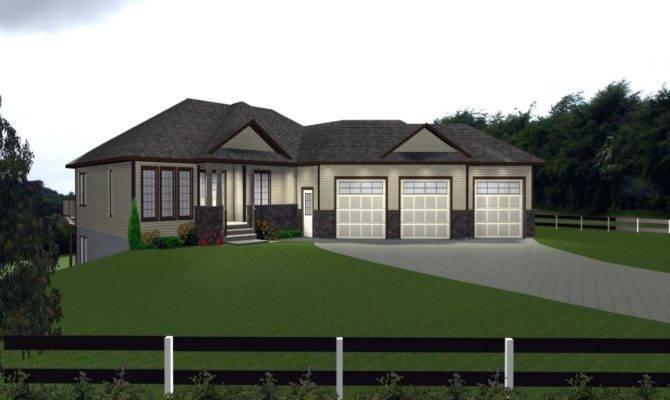 House Plans Attached Garage Venidami