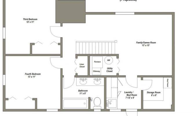House Plans Basement Awesome Best Floor