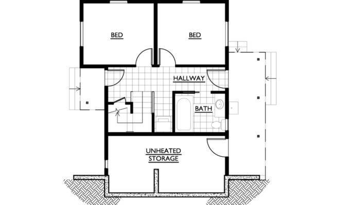 House Plans Bedroom Modern Plan
