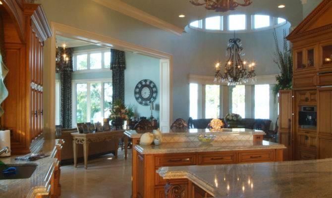 House Plans Big Kitchens Designs