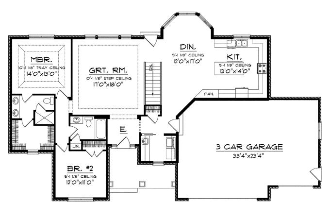 House Plans Big Kitchens Smalltowndjs House Plans 109901