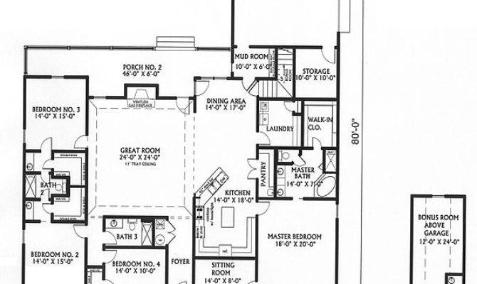House Plans Big Kitchens Smalltowndjs