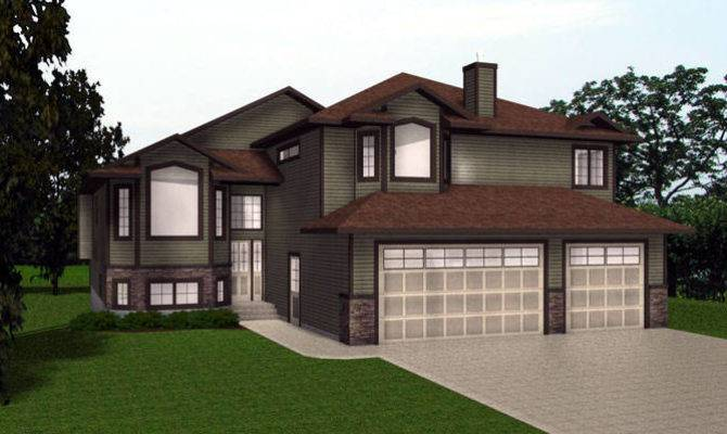 House Plans Bungalow Plan Home Ranch Level Custom