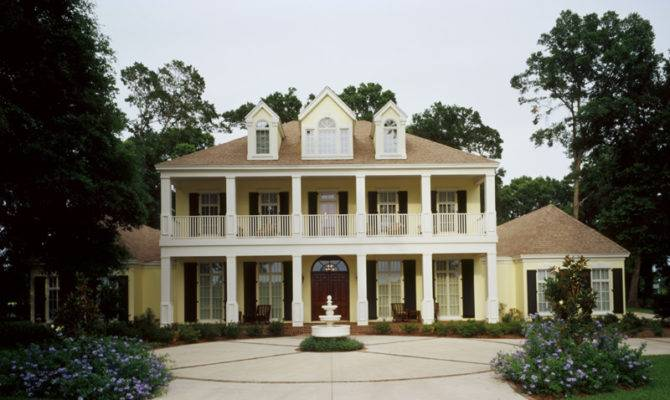House Plans Colonial Luxury Plantation