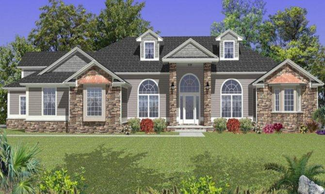 House Plans Colonial Style Homes Ranch